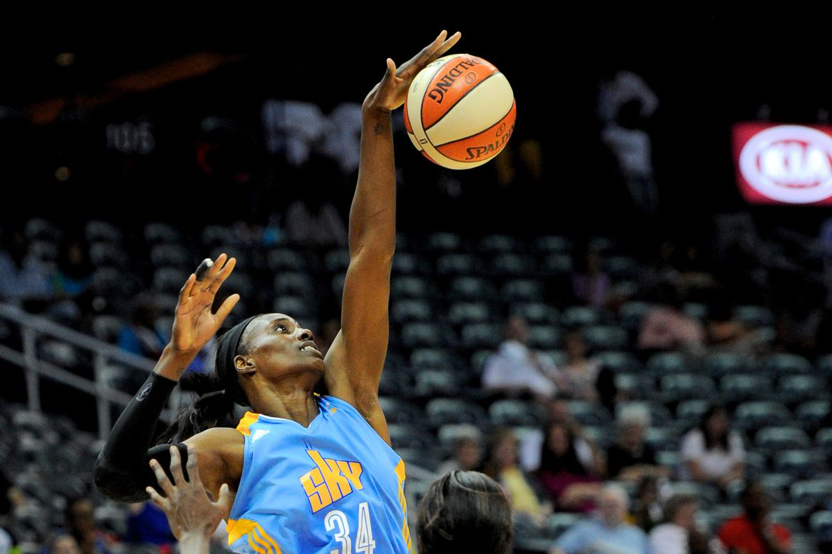 Sylvia Fowles and the Sky try to take care of business against DC later today.