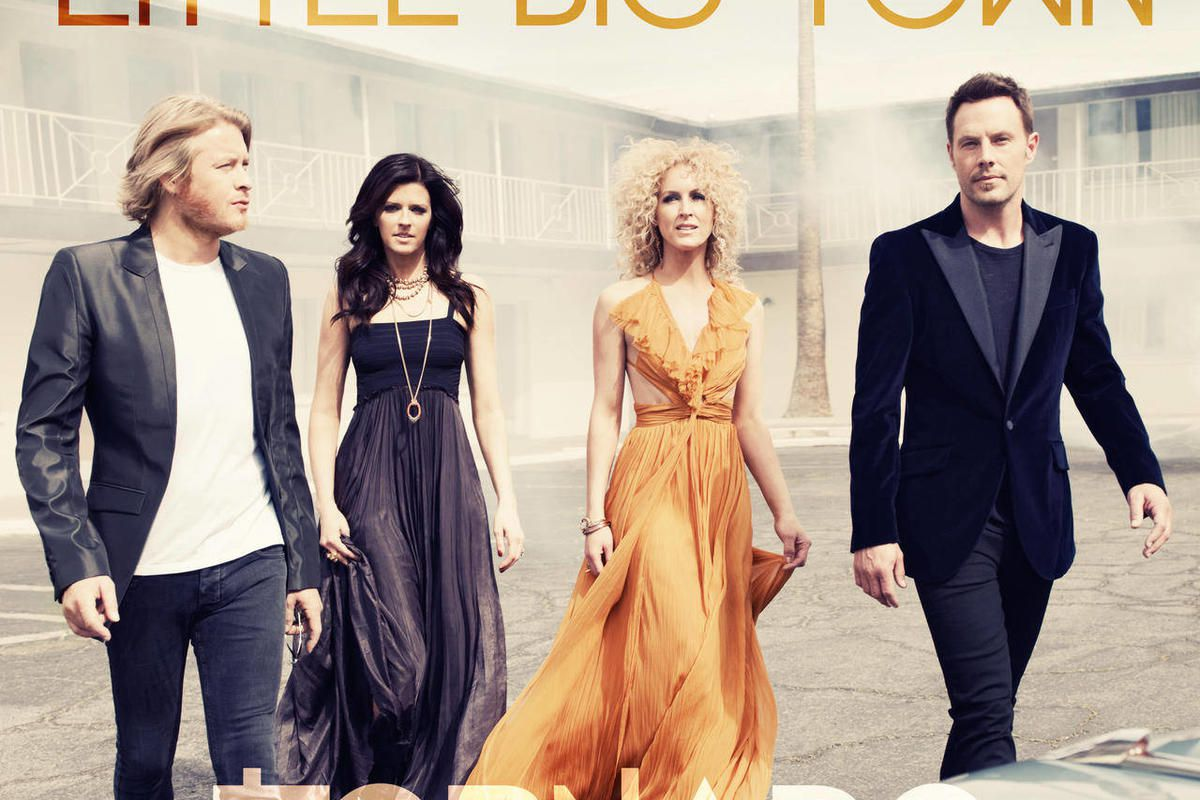 """This CD cover image released by Capitol Records Nashville shows the latest release by Little Big Town, """"Tornado."""""""