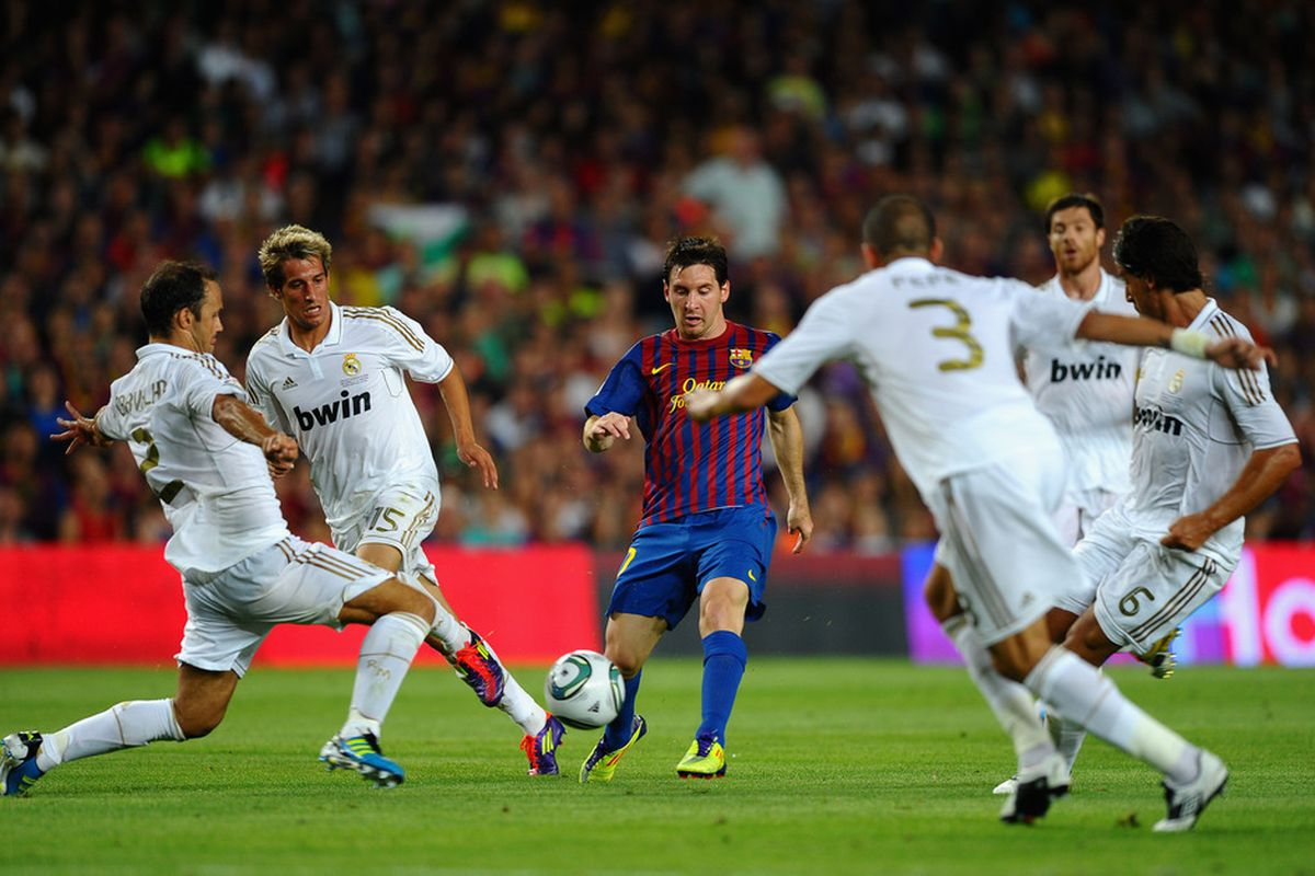 Madrid will be looking to minimise Messi's influence