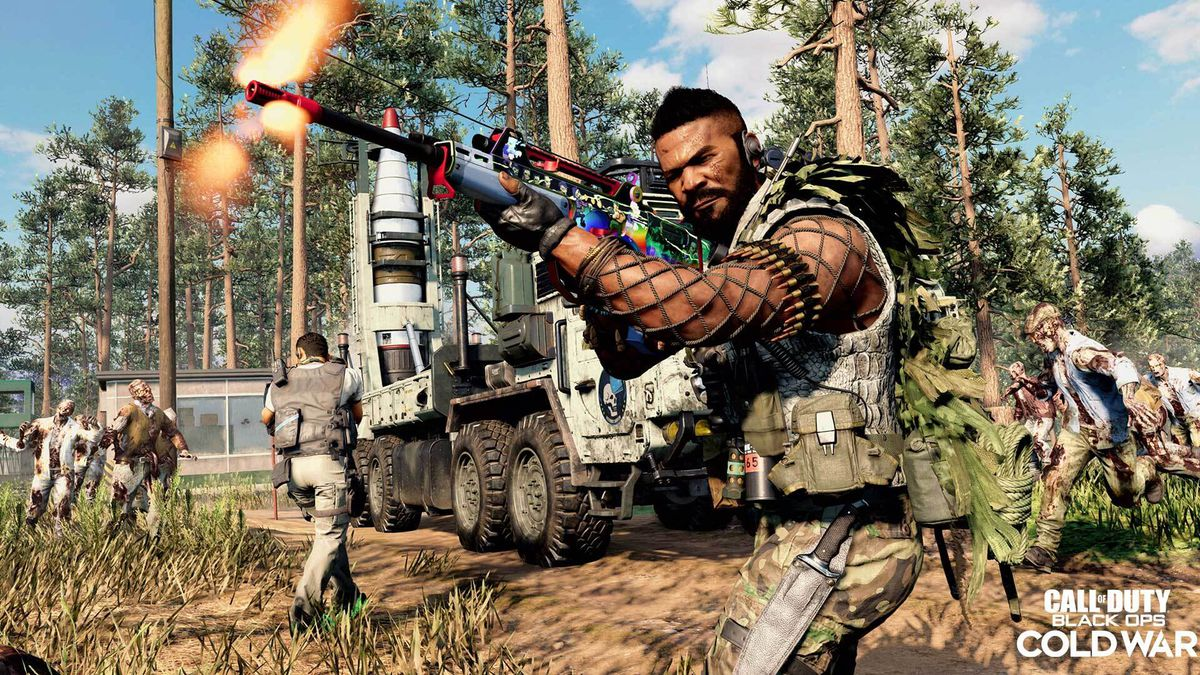 Call of Duty: Black Ops Cold War players take on zombies in the Outbreak map