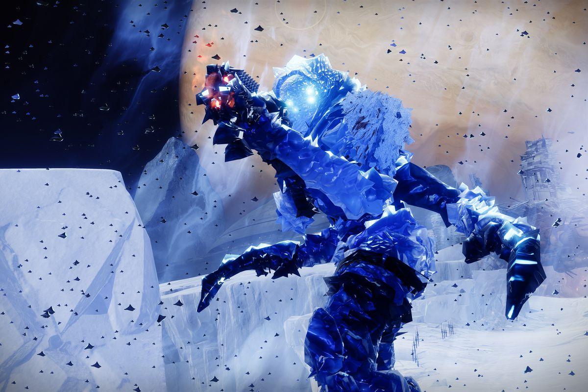 Destiny 2 Beyond Light Frozen vandal