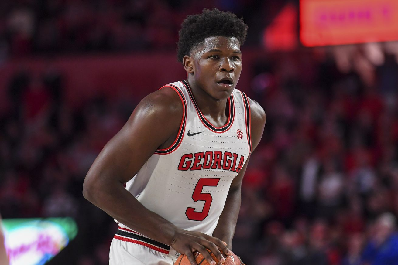 Mock Draft: Edwards projected to Hawks with No. 1 pick
