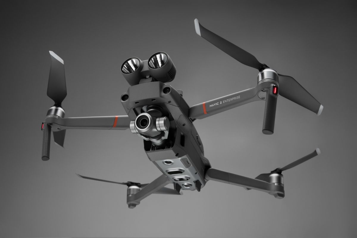 2b1f8bce93a DJI's new drone features swappable search and rescue accessories. New, 3  comments. Mavic 2 ...