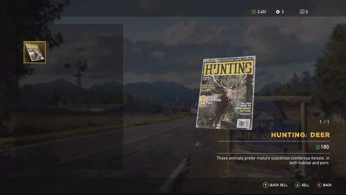 Far Cry 5 Selling Guide And Prices For Everything Polygon