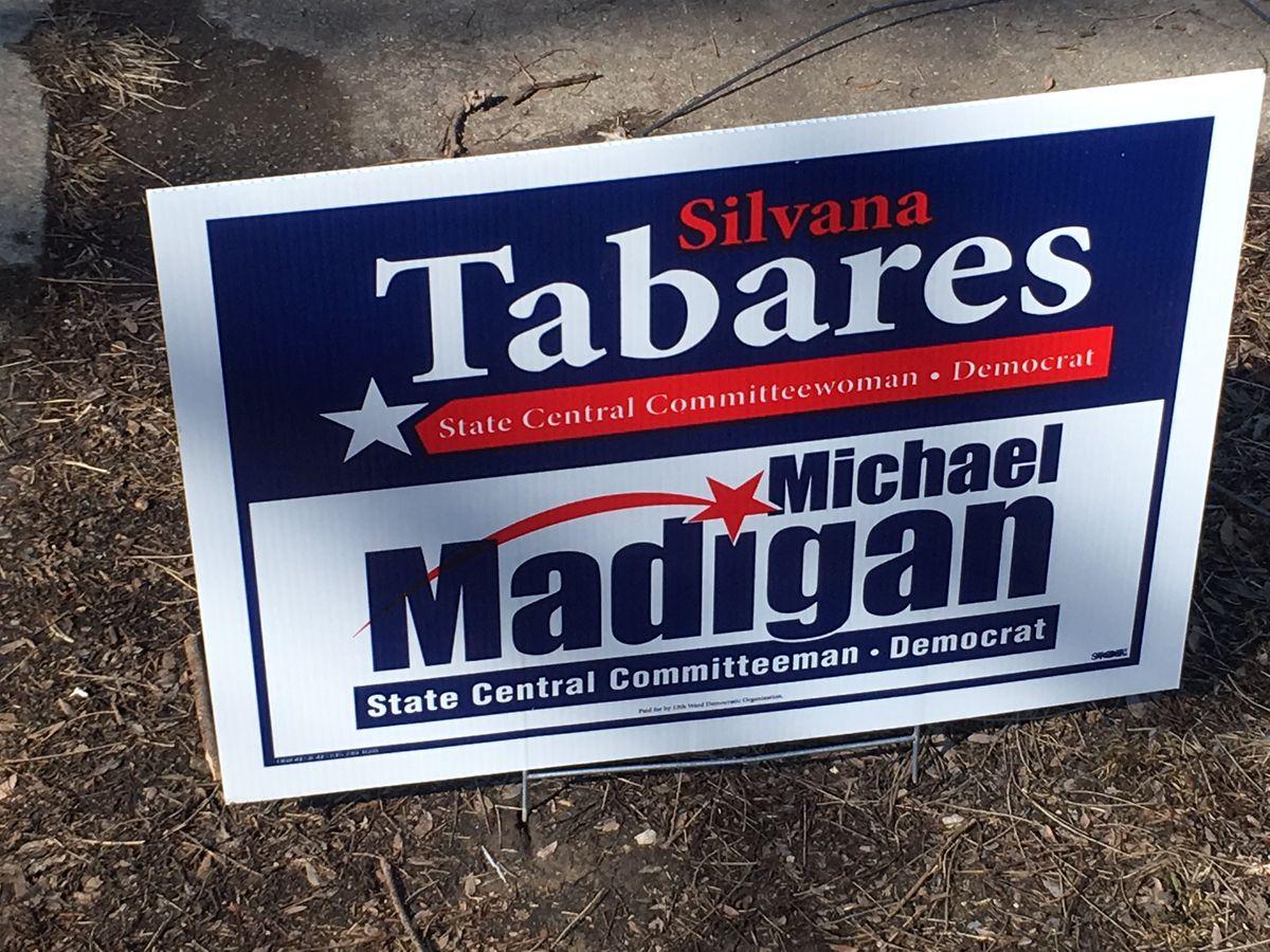 13th Ward campaign sign. Sun-Times File Photo.