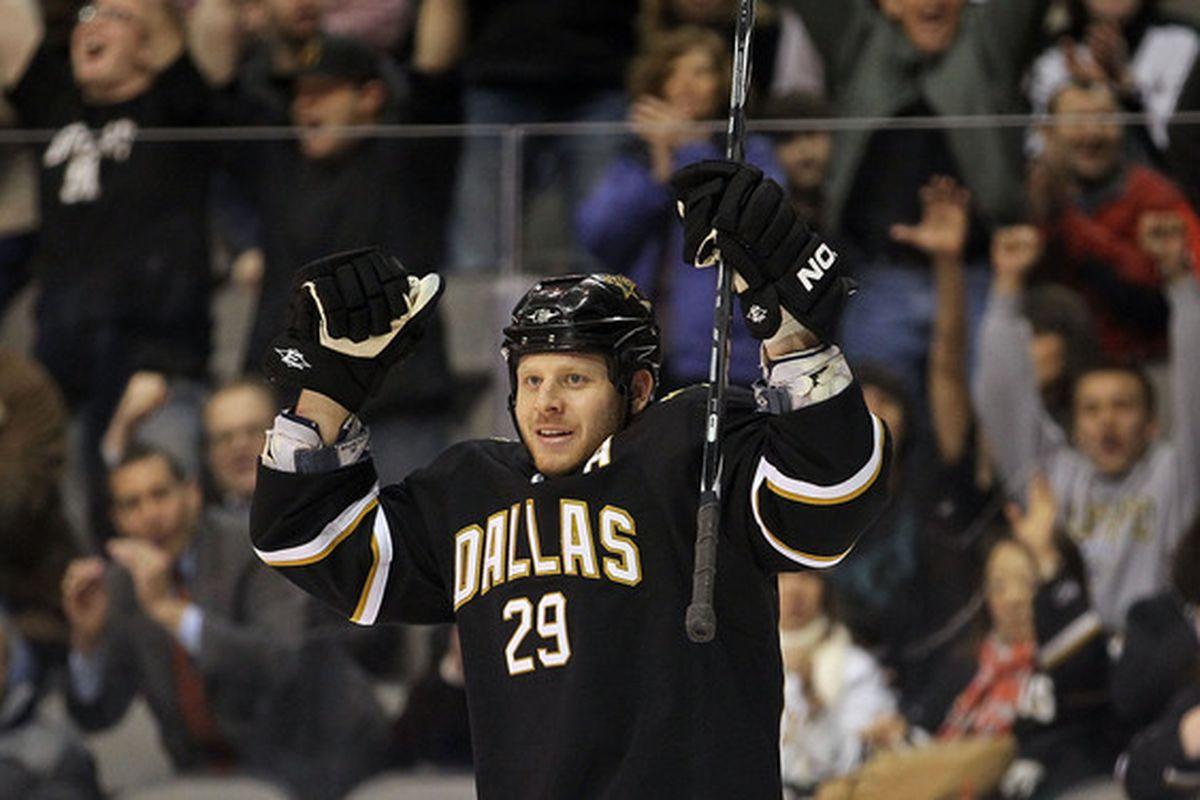 How happy is Steve Ott to have joined the Sabres? Thiiiiiiiiiis happy.
