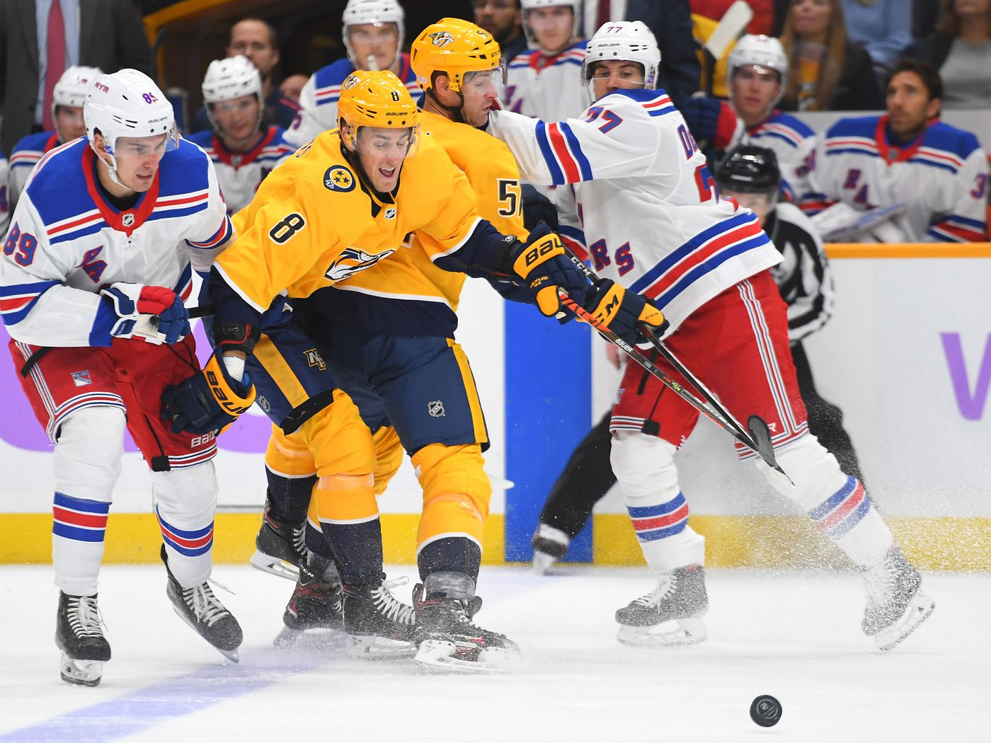 A Statistical Look At The Nashville Predators Kyle Turris On The Forecheck