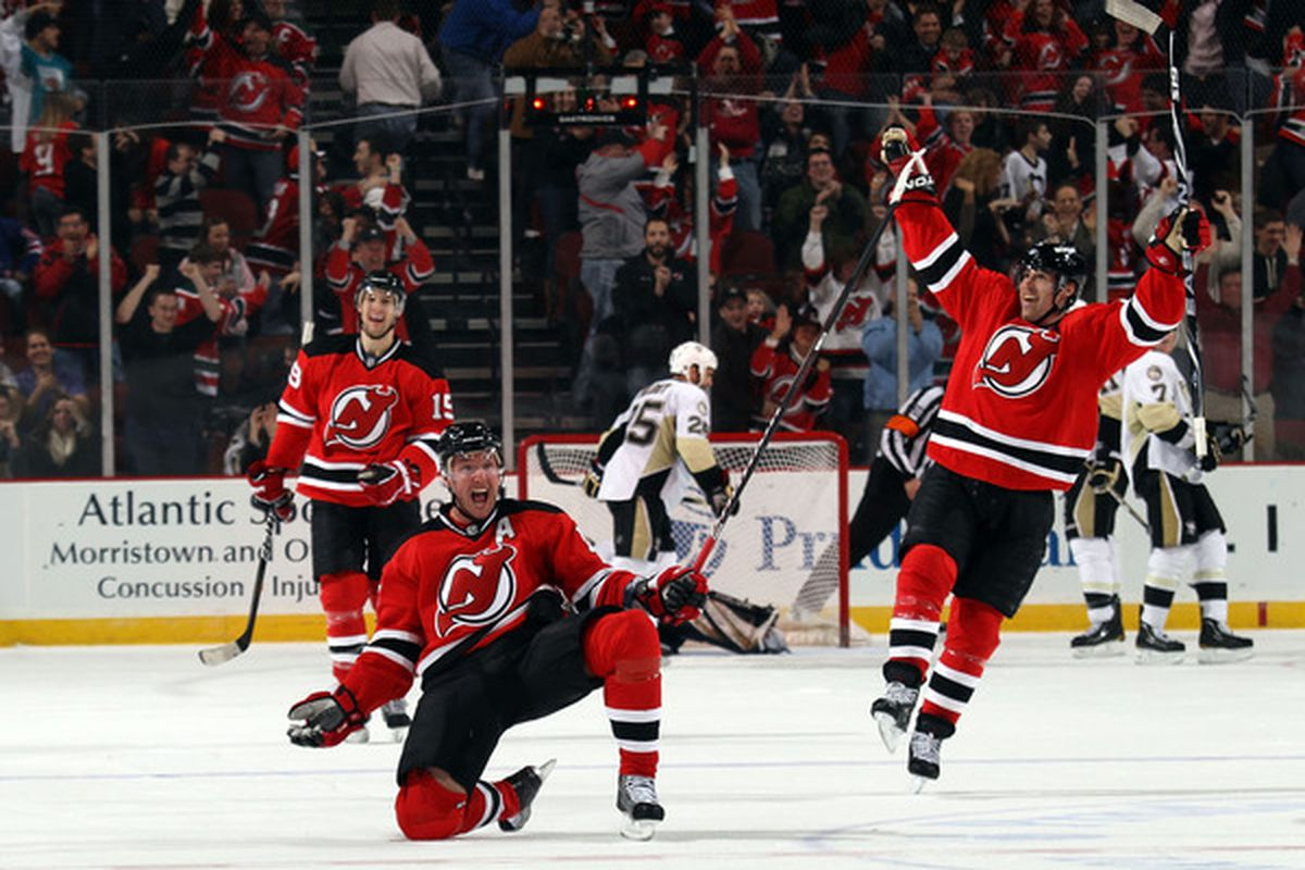 This was such a great moment last season.  Let's break down how this goal happened.  (Photo by Bruce Bennett/Getty Images)