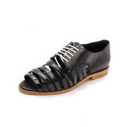 Strappy derby flats, $297 (was $495)