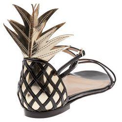 "<b>Aquazzura</b> Flat Sandal, <a href=""http://www.farfetch.com/shopping/women/aquazzura-flat-sandal-item-10383080.aspx"">$895</a> at Fivestory"