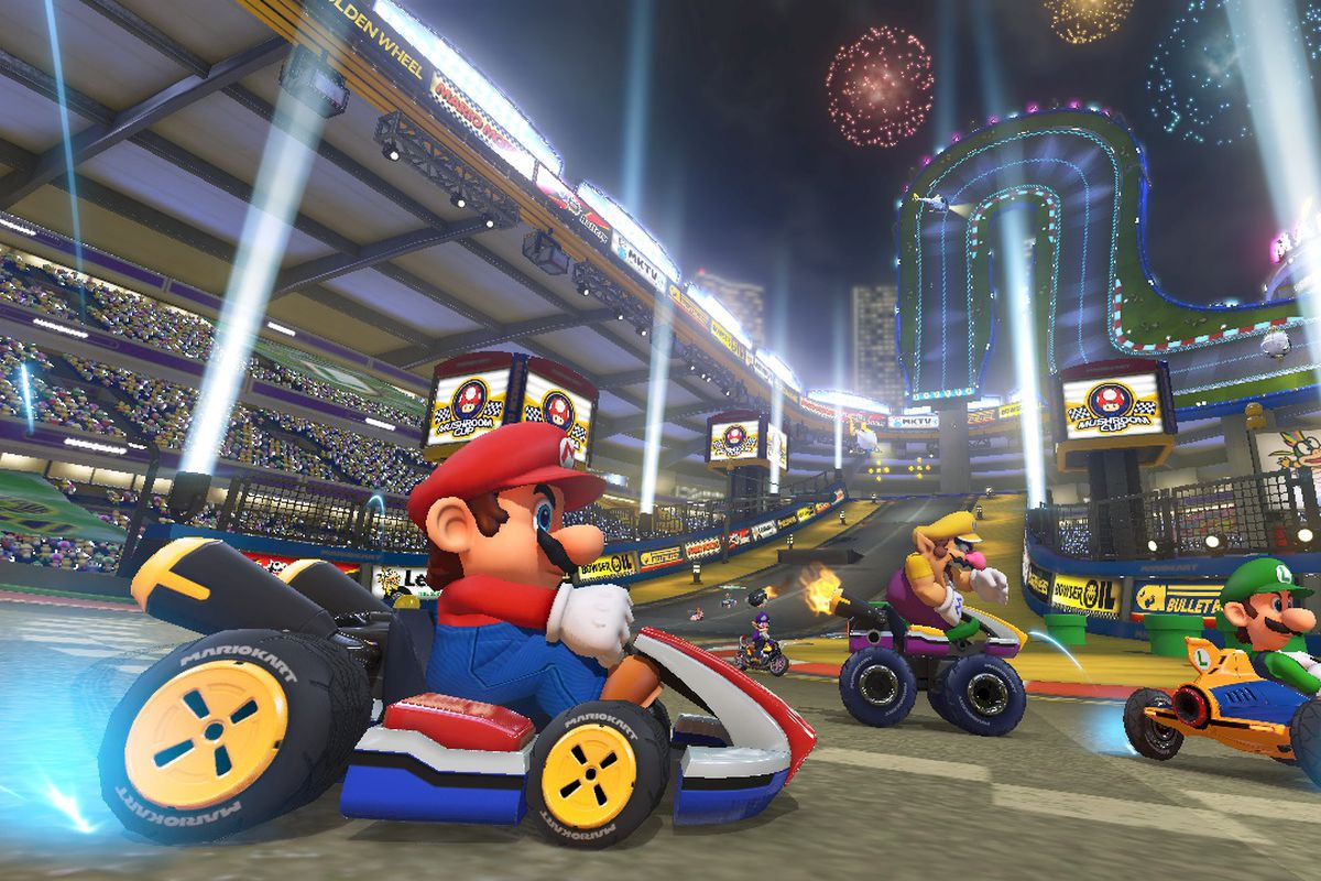 The new tracks and items of 'Mario Kart 8'