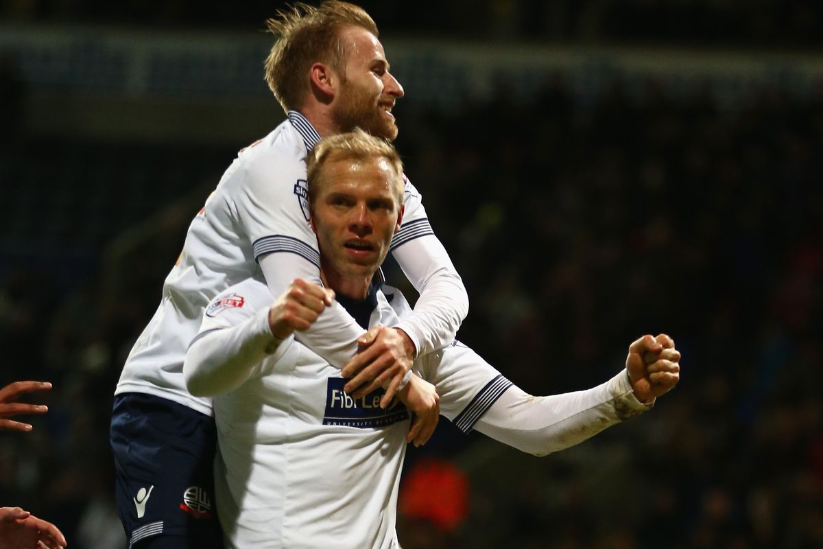 Eidur Gudjohnsen starts today after rescuing a point for Wanderers at the weekend