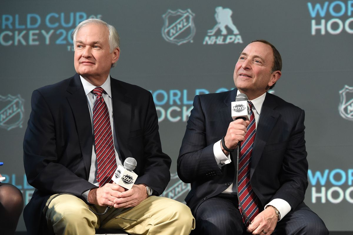 2015 NHL All-Star Weekend - Commissioners Press Conference