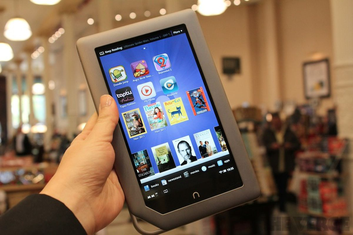 Barnes & Noble Nook Tablet: pictures, video, and hands-on
