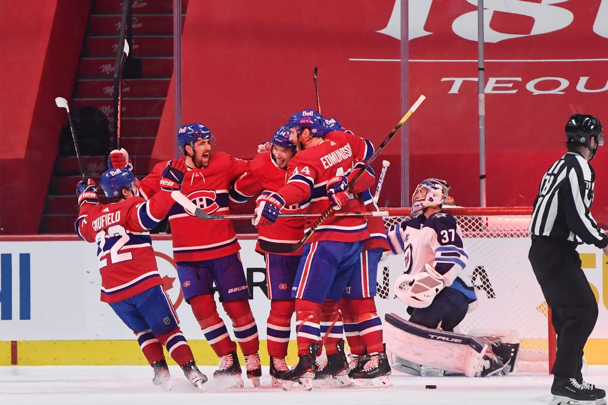NHL: Stanley Cup Playoffs-Winnipeg Jets at Montreal Canadiens