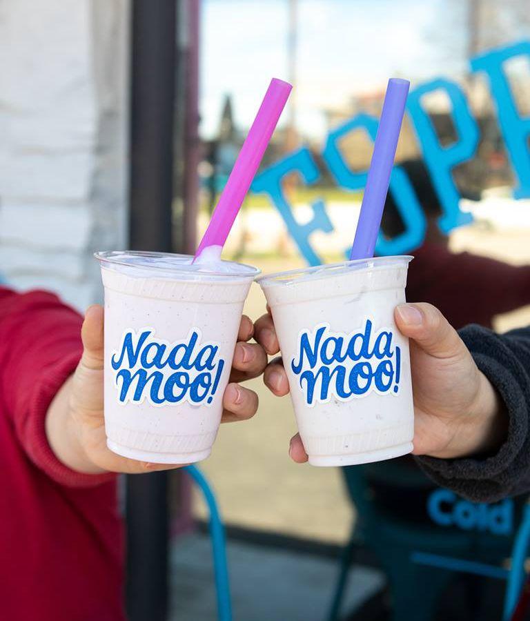 Shakes from Nada Moo