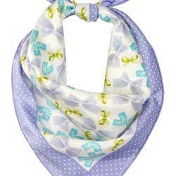 """<b>Christian Dior</b> printed silk-twill scarf, <a href=""""http://www.theoutnet.com/product/251479"""">$44</a> (was $220)."""