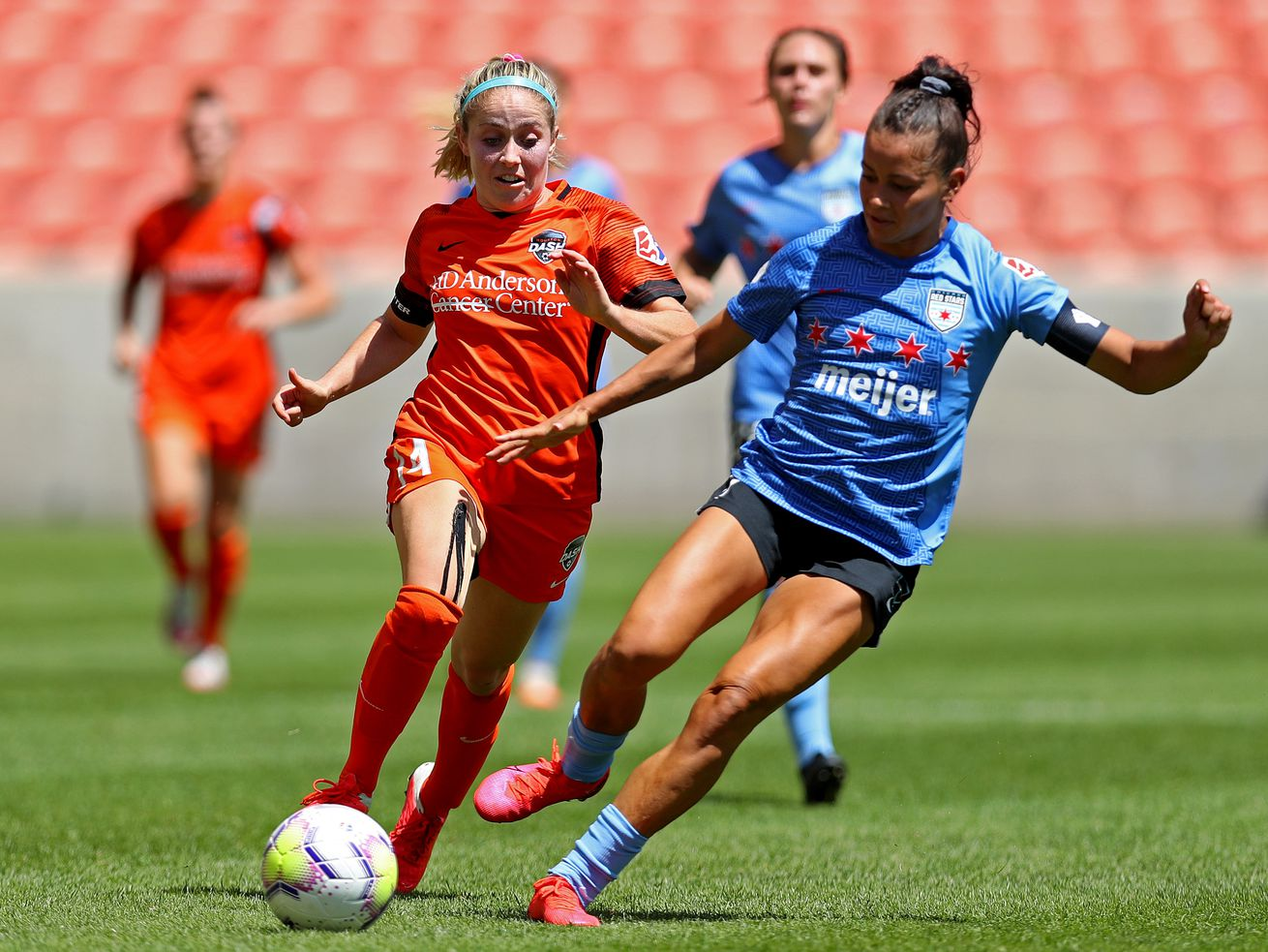 2020 NWSL Challenge Cup - Championship - Houston Dash v Chicago Red Stars