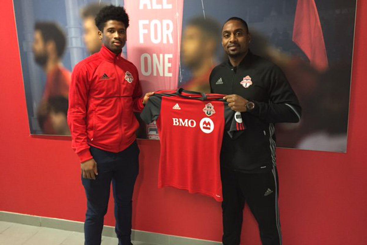 Aikim Andrews Jason Bent Toronto FC II