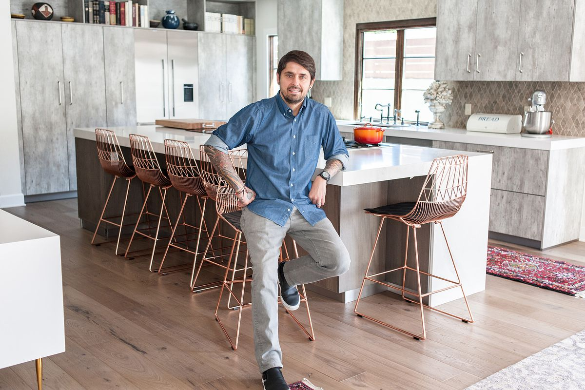 chef ludo lefebvre reveals his sleek home kitchen eater la