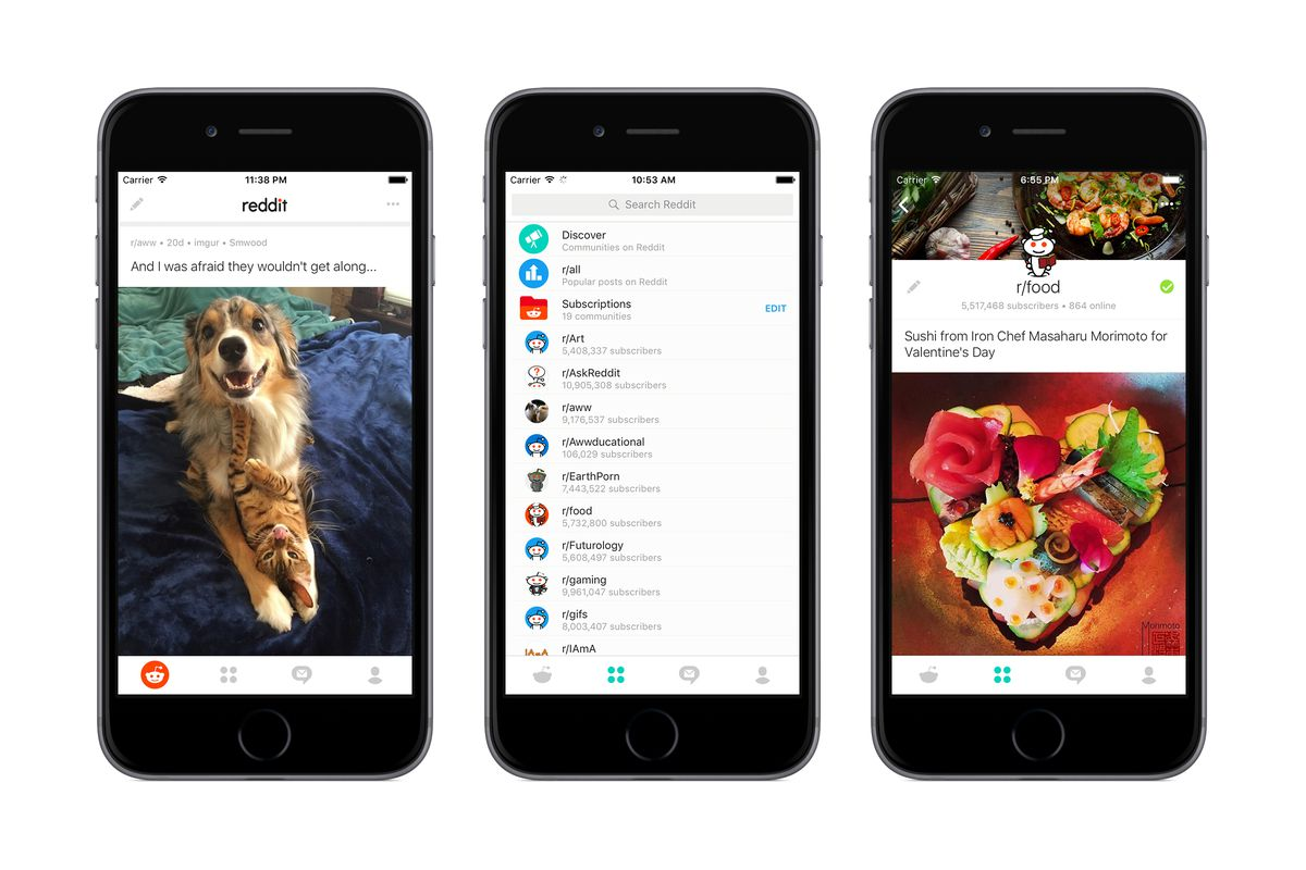 Reddit Launches Official Apps For Android And Iphone The
