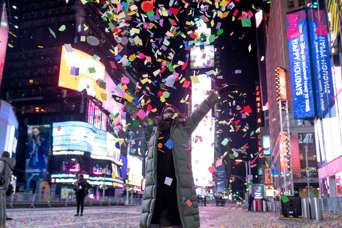 2021 Times Square New Year's Eve Celebration