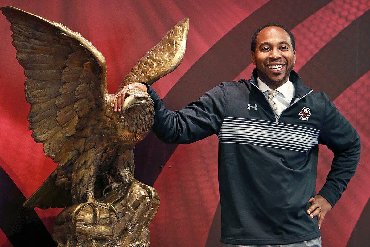 Boston College Athletic Director Martin Jarmond...
