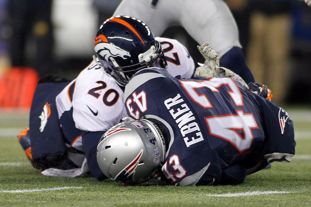 Nate Ebner puts the 'special' in special teams.