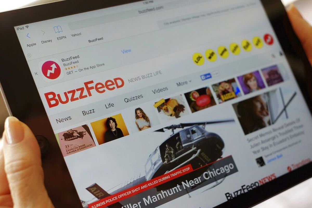 BuzzFeed is cutting 200 jobs - Chicago Sun-Times