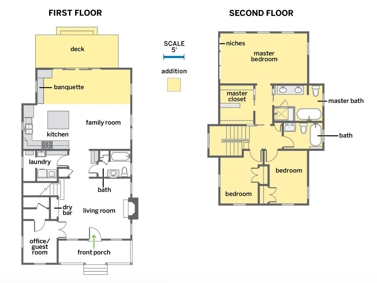 Reed House floor plans