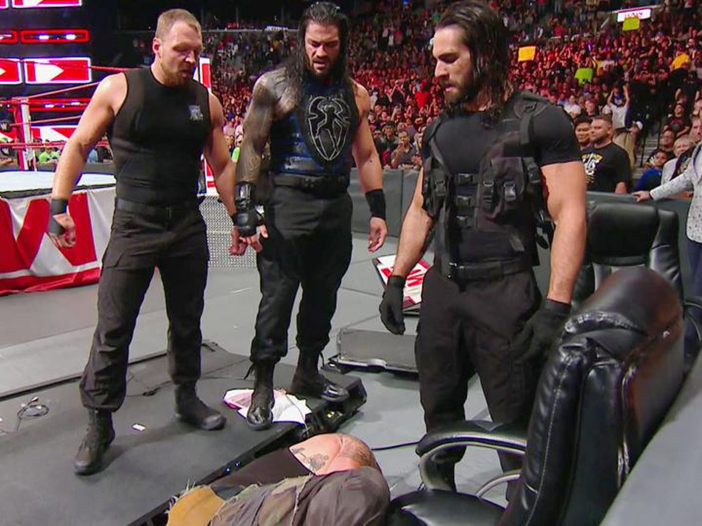 Wwe Raw Results Recap Reactions Aug 20 2018 The Shield