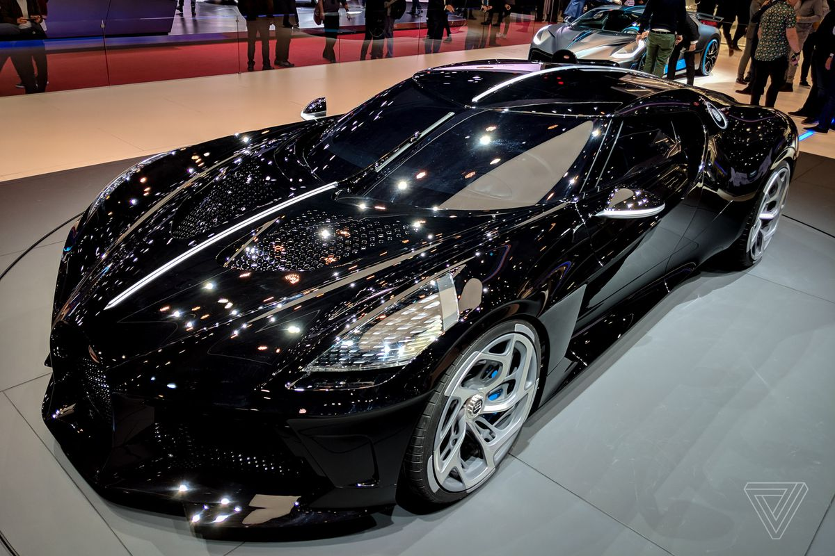 Bugatti S La Voiture Noire Is A 19 Million Ode To The Grotesquely Rich The Verge