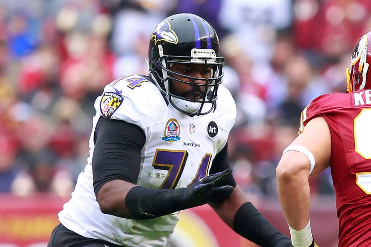 Michael Oher believes he's better suited at right tackle.