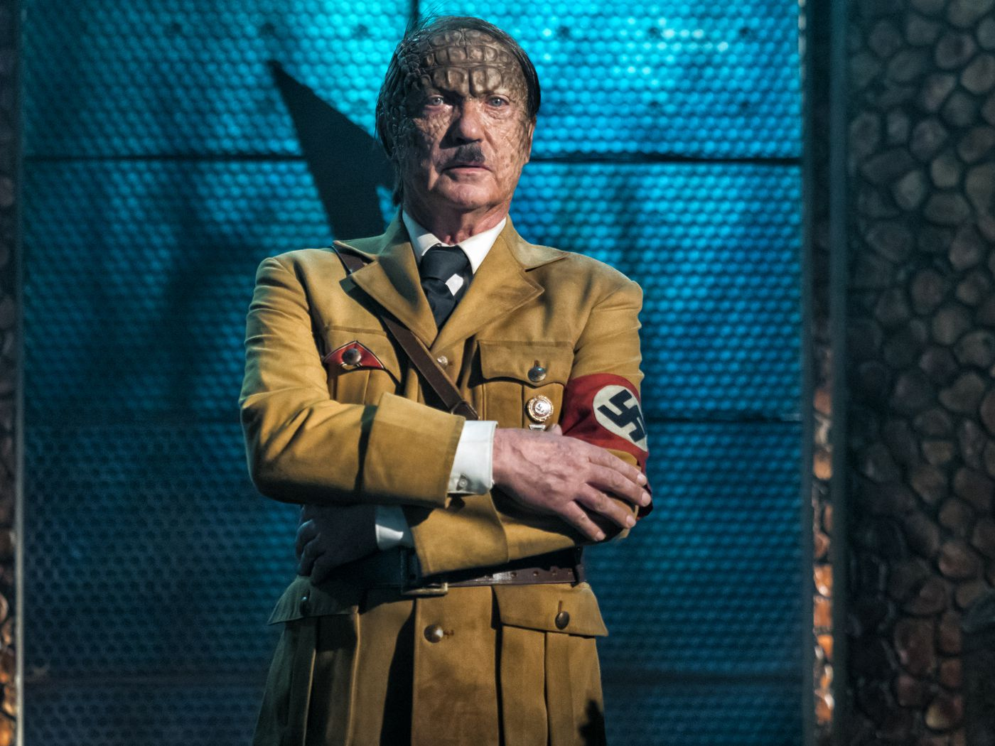 Iron Sky The Coming Race Review Alien Hitler Rides A T Rex To