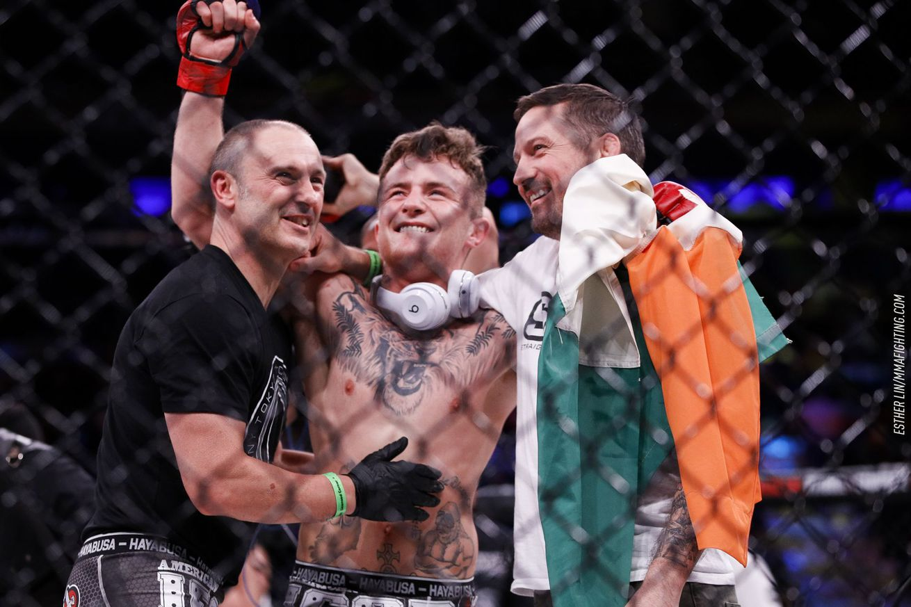 community news, James Gallagher opting to stay at 145, says he will be first to break a million PPV buys for Bellator