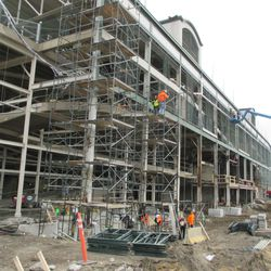 Another view of the west side of the ballpark along Waveland