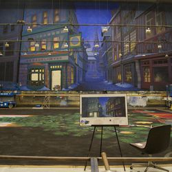 Utah Opera Studios is painting all the sets for Ballet West's new production.