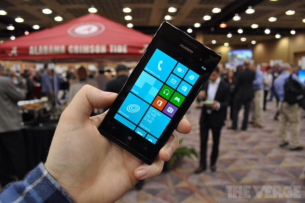 Gallery Photo: Huawei Ascend W1 Windows Phone 8 hands-on pictures