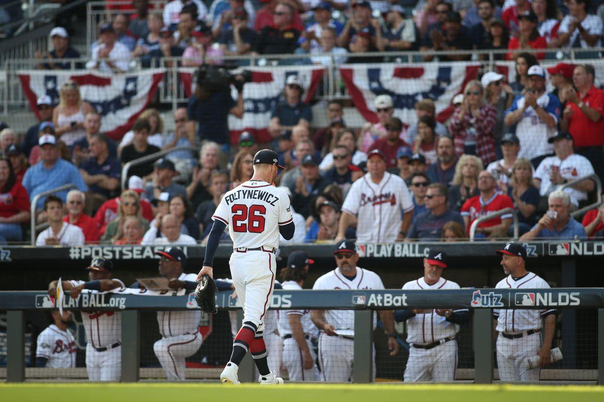 Atlanta Braves Mike Foltynewicz 2019 Season In Review Talking Chop