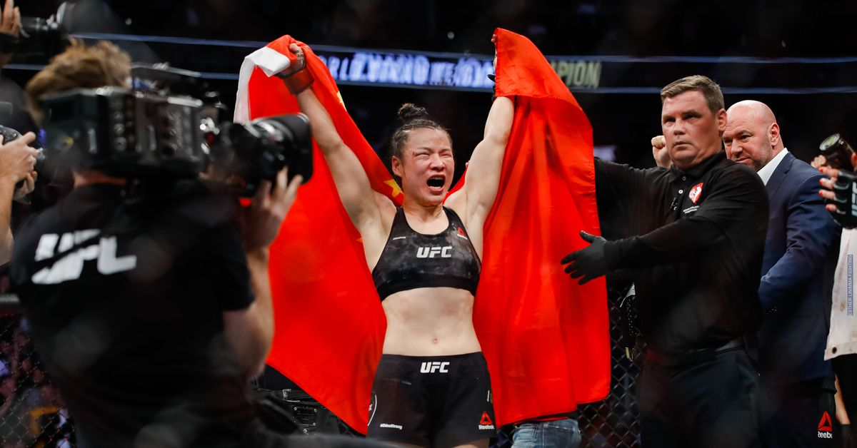 Zhang Weili vs. Rose Namajunas title fight targeted for UFC 261