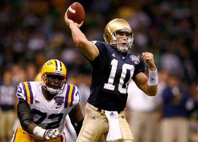 2007 Allstate Sugar Bowl: Notre Dame v LSU