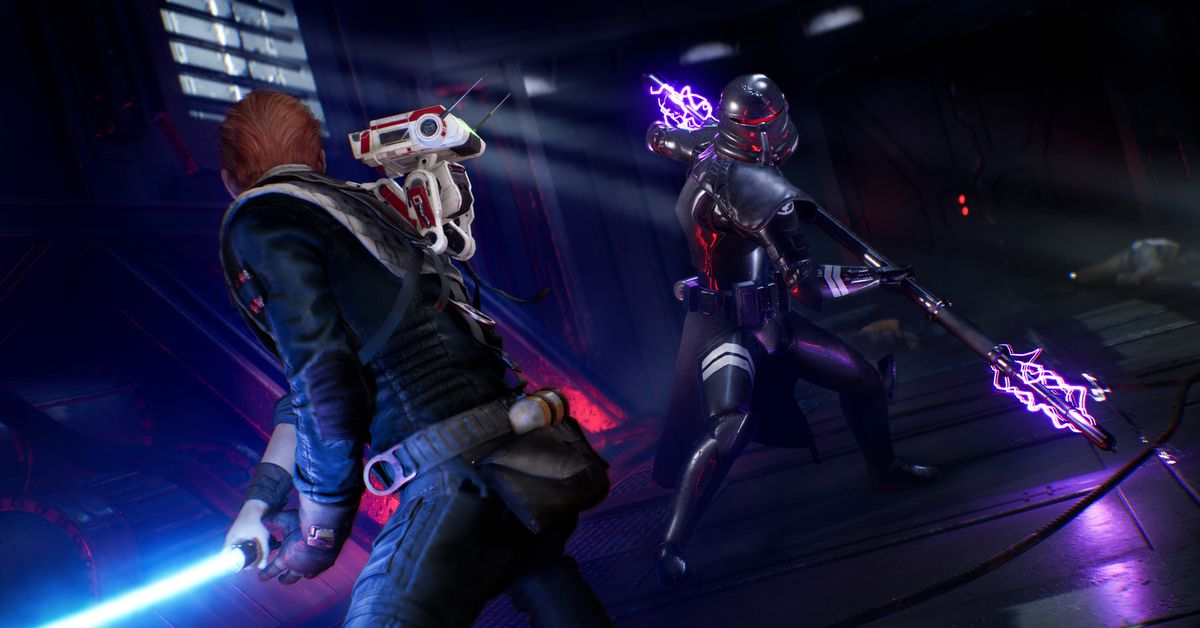 Now you can watch the Star Wars Jedi: Fallen Order E3 demo online