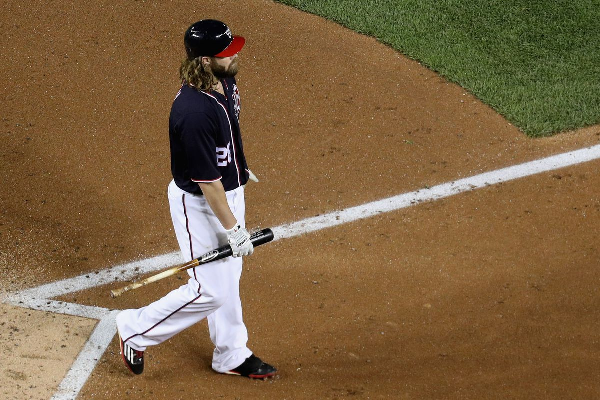 This is not a man on the way to first base.