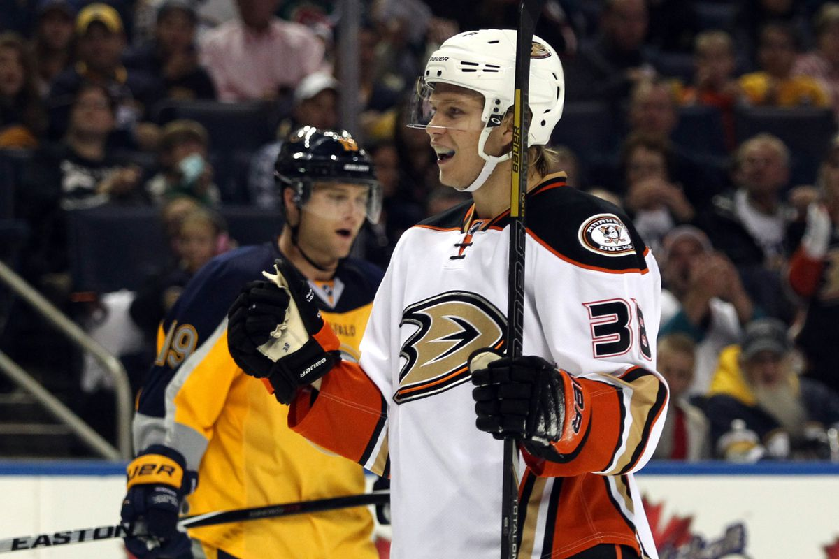 William Karlsson celebrates one of his two goals on the afternoon.