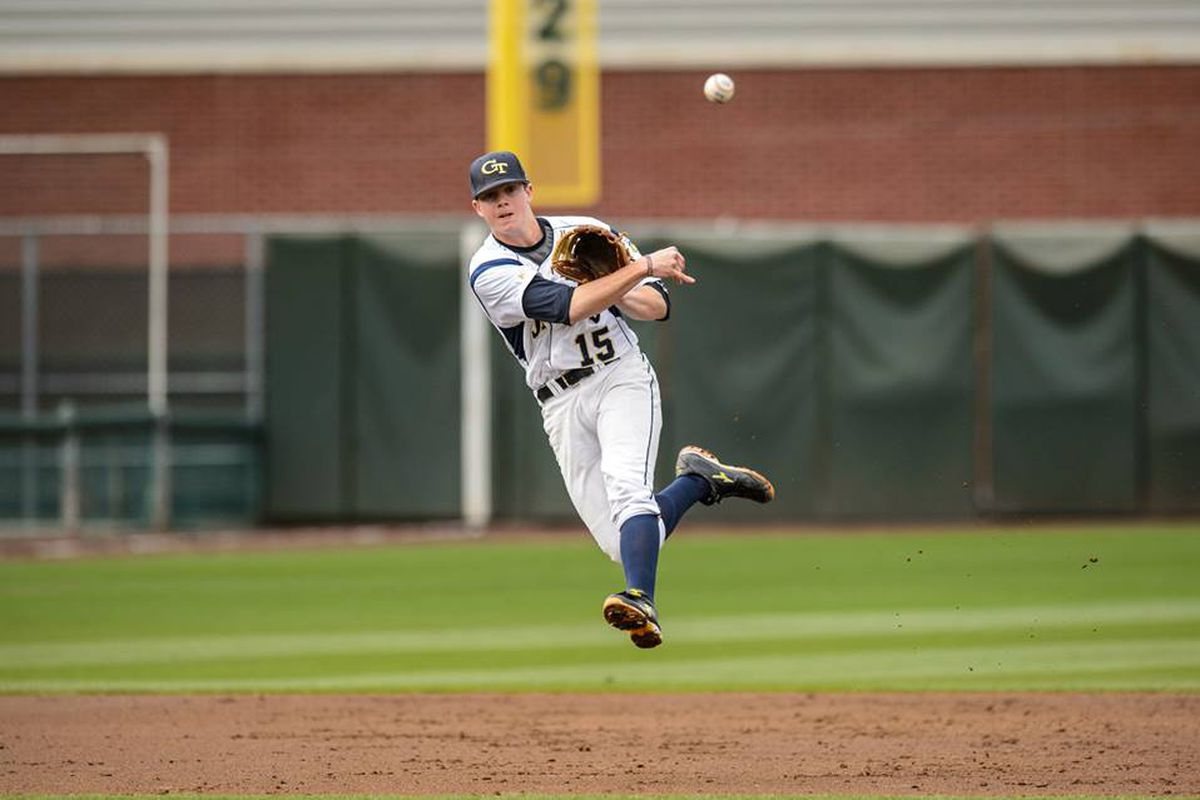 Connor Justus's suicide squeeze brought Wednesday night's game into extra innings
