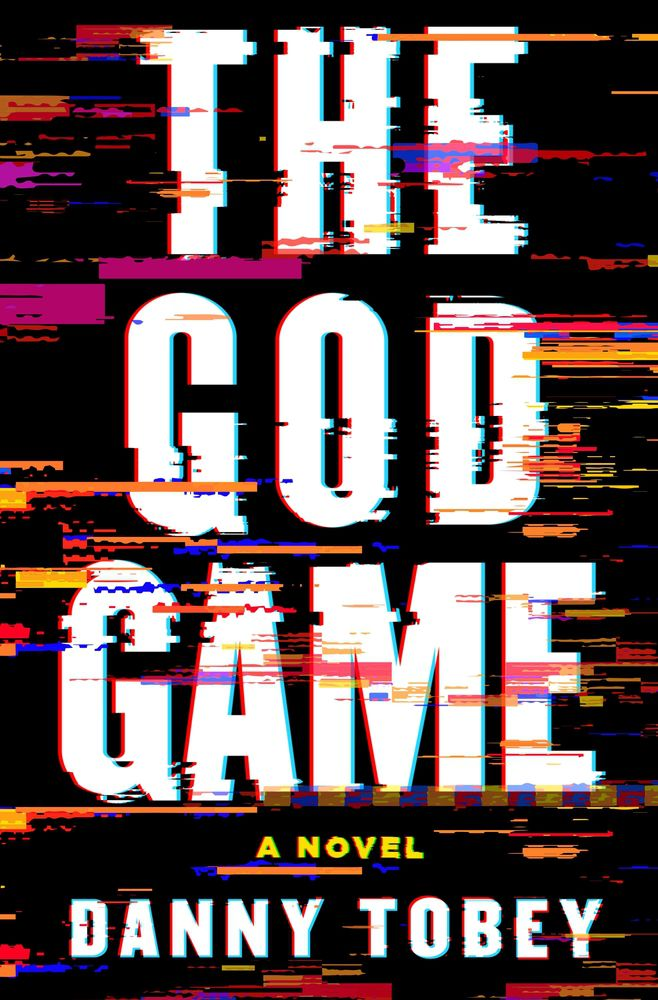the god game book cover is glitchy