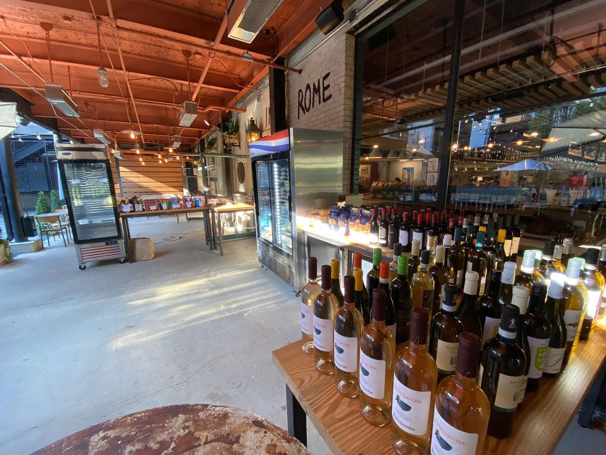 Roman-Italian restaurant Forza Storico reopens at Westside Provisions with an open-air market