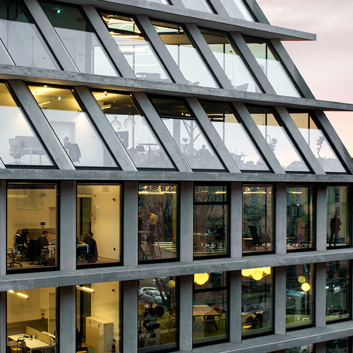Microsoft moves into Herzog & de Meuron building in Milan - Curbed