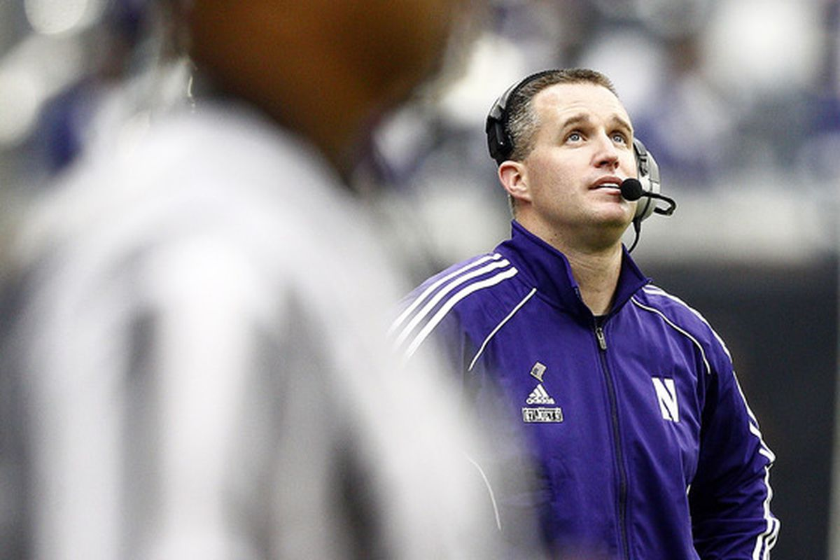 Northwestern head coach Pat Fitzgerald reflects on the wisdom of paying Dan Persa $80,000 a game regardless of his injury status.