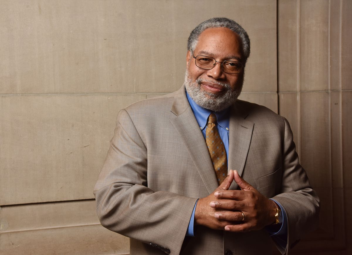 A photo of historian Lonnie Bunch III, the secretary of the Smithsonian Institution